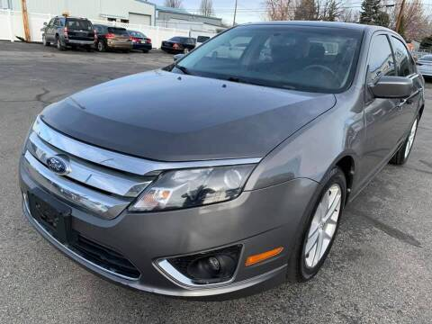 2012 Ford Fusion for sale at RABI AUTO SALES LLC in Garden City ID
