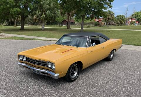 1969 Plymouth Roadrunner for sale at P J'S AUTO WORLD-CLASSICS in Clearwater FL