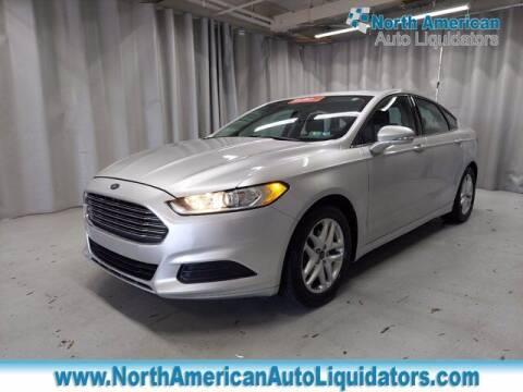 2014 Ford Fusion for sale at North American Auto Liquidators in Essington PA