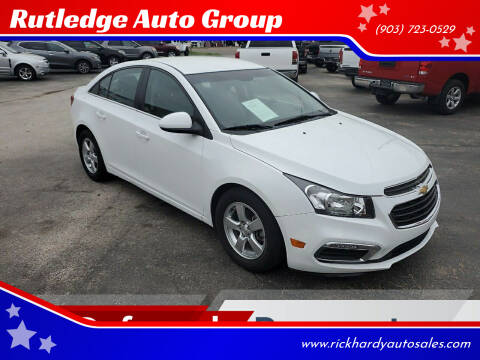 2015 Chevrolet Cruze for sale at Rutledge Auto Group in Palestine TX