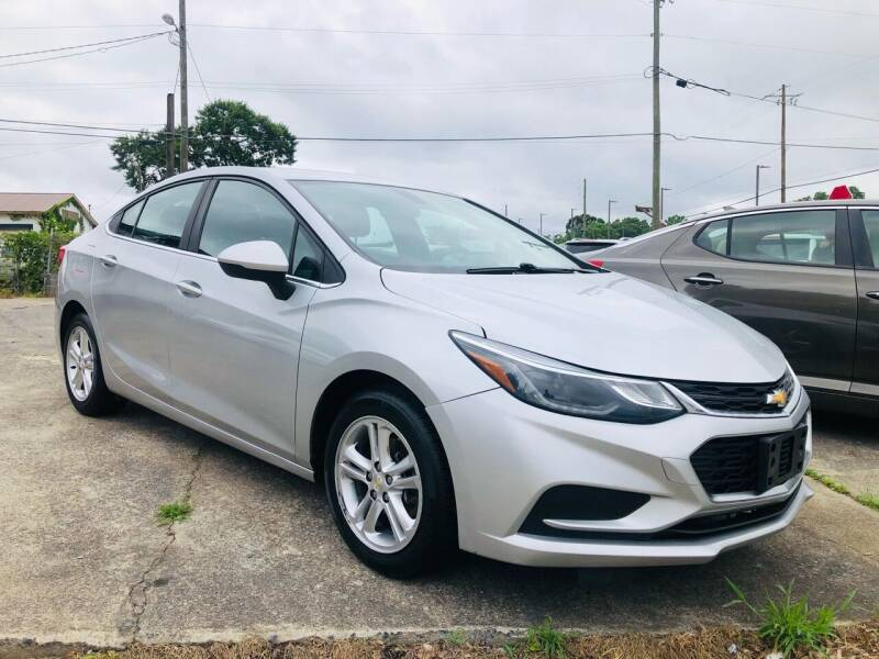 2017 Chevrolet Cruze for sale at DUNCAN AUTO SALES, INC in Cartersville GA
