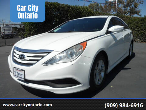2014 Hyundai Sonata for sale at Car City Ontario in Ontario CA