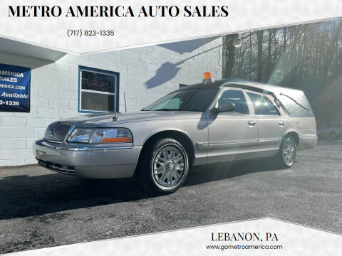 2005 Mercury Grand Marquis for sale at METRO AMERICA AUTO SALES of Lebanon in Lebanon PA
