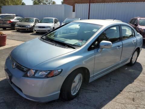 2007 Honda Civic for sale at Best Deal Motors in Saint Charles MO