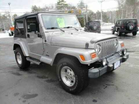 2001 Jeep Wrangler for sale at Route 4 Motors INC in Epsom NH