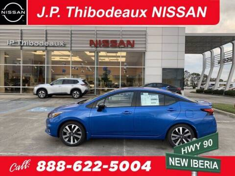 2021 Nissan Versa for sale at J P Thibodeaux Used Cars in New Iberia LA