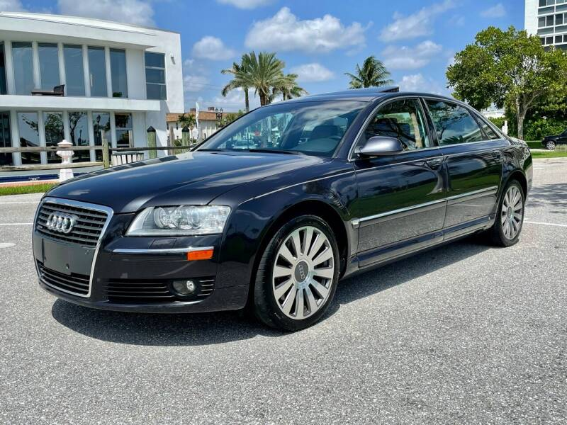 2007 Audi A8 L for sale at VE Auto Gallery LLC in Lake Park FL