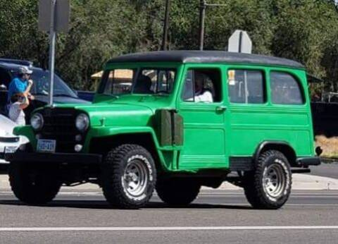 1951 Willys Jeep for sale at Classic Car Deals in Cadillac MI