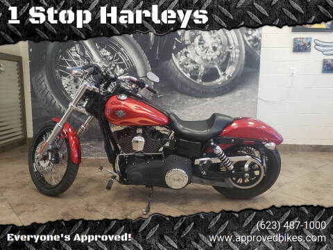 2013 Harley-Davidson FXDWG-13 Dyna Wide Glide for sale at 1 Stop Harleys in Peoria AZ