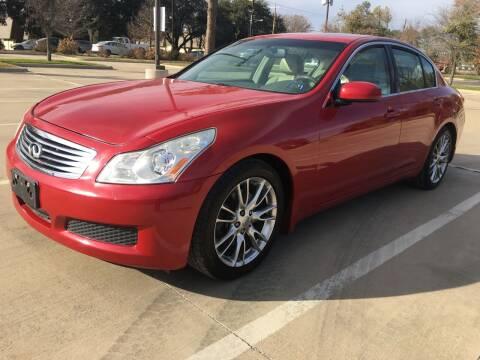 2007 Infiniti G35 for sale at Safe Trip Auto Sales in Dallas TX