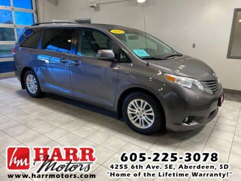 2013 Toyota Sienna for sale at Harr's Redfield Ford in Redfield SD