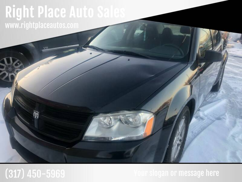 2008 Dodge Avenger for sale at Right Place Auto Sales in Indianapolis IN