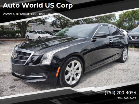 2015 Cadillac ATS for sale at Auto World US Corp in Plantation FL
