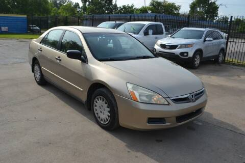 2007 Honda Accord for sale at Preferable Auto LLC in Houston TX