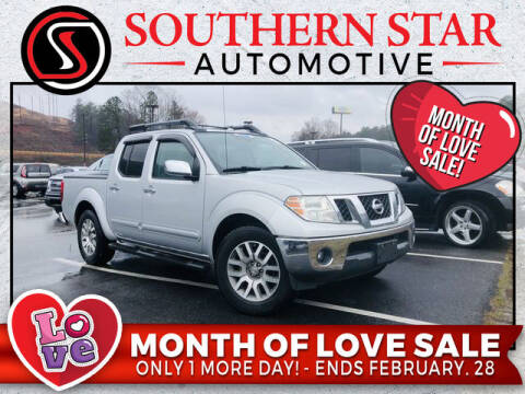 2011 Nissan Frontier for sale at Southern Star Automotive, Inc. in Duluth GA