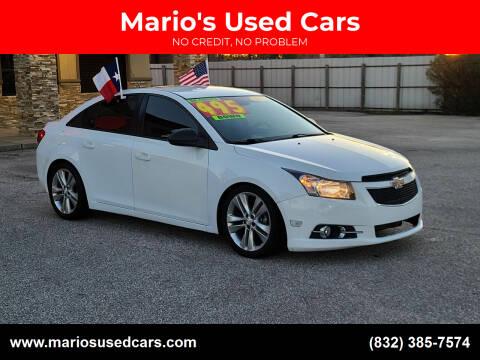 2015 Chevrolet Cruze for sale at Mario's Used Cars - Pasadena Location in Pasadena TX