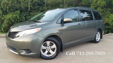 2012 Toyota Sienna for sale at Houston Auto Preowned in Houston TX