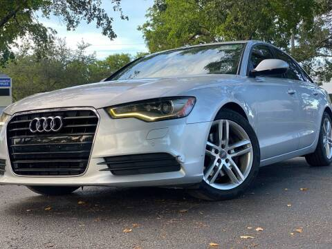 2012 Audi A6 for sale at HIGH PERFORMANCE MOTORS in Hollywood FL
