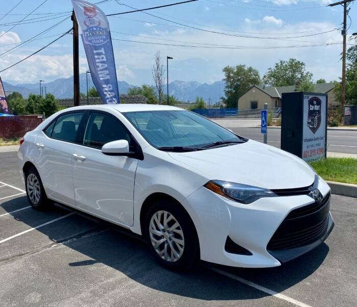 2018 Toyota Corolla for sale at The Car-Mart in Murray UT