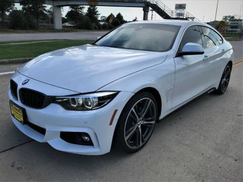 2018 BMW 4 Series for sale at SARCO ENTERPRISE inc in Houston TX