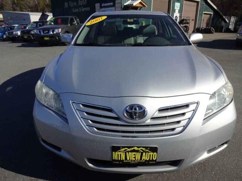 2007 Toyota Camry for sale at MOUNTAIN VIEW AUTO in Lyndonville VT