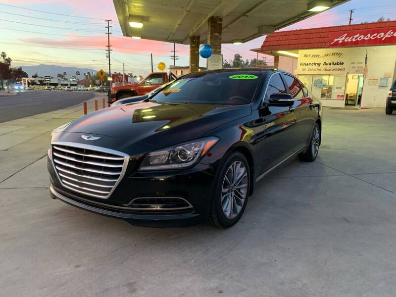 2015 Hyundai Genesis for sale at Top Quality Auto Sales in Redlands CA