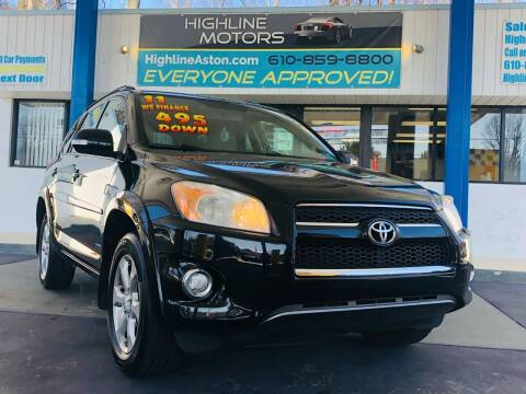 2011 Toyota RAV4 for sale at Highline Motors in Aston PA