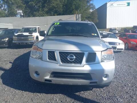 2013 Nissan Armada for sale at Keyser Autoland llc in Scranton PA