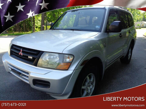 2001 Mitsubishi Montero for sale at Liberty Motors in Chesapeake VA