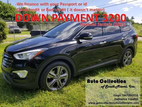 2013 Hyundai Santa Fe for sale at AUTO COLLECTION OF SOUTH MIAMI in Miami FL