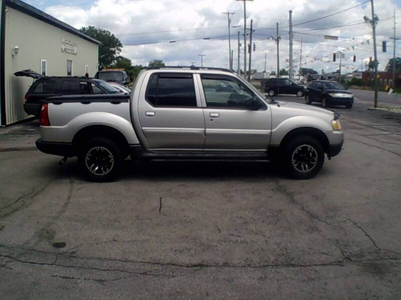 2003 Ford Explorer Sport Trac for sale at Settle Auto Sales TAYLOR ST. in Fort Wayne IN