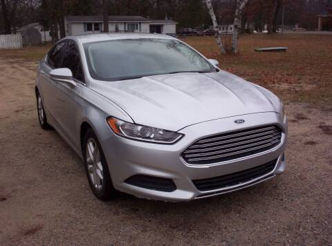 2015 Ford Fusion for sale at LAKESIDE MOTORS LLC in Houghton Lake MI