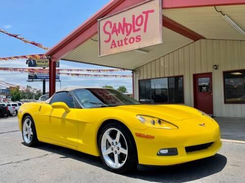 2005 Chevrolet Corvette for sale at Sandlot Autos in Tyler TX