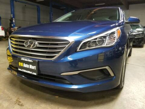 2016 Hyundai Sonata for sale at 916 Auto Mart ONLY $399 DOWN!!!* in Sacramento CA