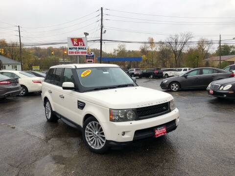 2010 Land Rover Range Rover Sport for sale at KB Auto Mall LLC in Akron OH