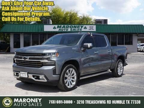 2020 Chevrolet Silverado 1500 for sale at Maroney Auto Sales in Humble TX