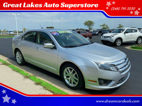 2012 Ford Fusion for sale at Great Lakes Auto Superstore in Waterford Township MI