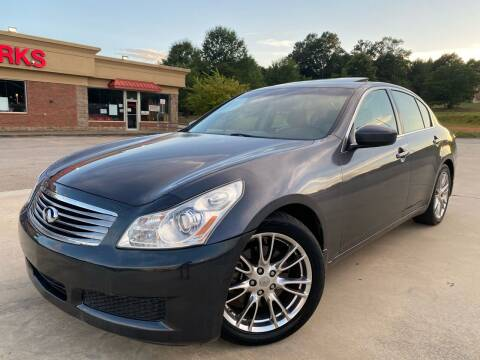 2009 Infiniti G37 Sedan for sale at Gwinnett Luxury Motors in Buford GA