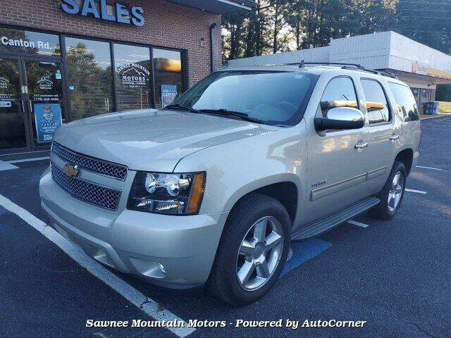 2013 Chevrolet Tahoe for sale at Michael D Stout in Cumming GA