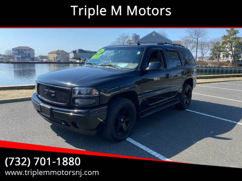 2006 GMC Yukon for sale at Triple M Motors in Point Pleasant NJ