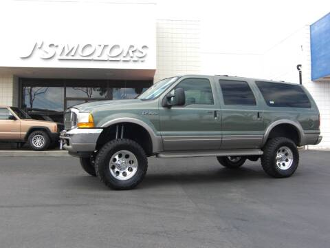 2000 Ford Excursion for sale at J'S MOTORS in San Diego CA