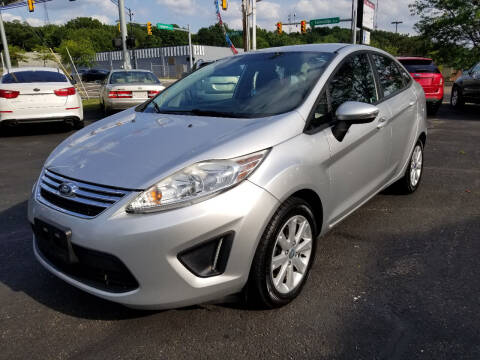 2013 Ford Fiesta for sale at Cedar Auto Group LLC in Akron OH