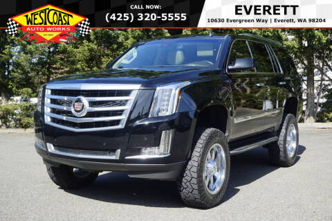 2015 Cadillac Escalade for sale at West Coast Auto Works in Edmonds WA