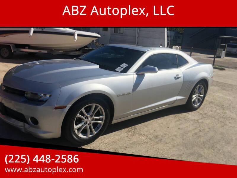 2014 Chevrolet Camaro for sale at ABZ Autoplex, LLC in Baton Rouge LA