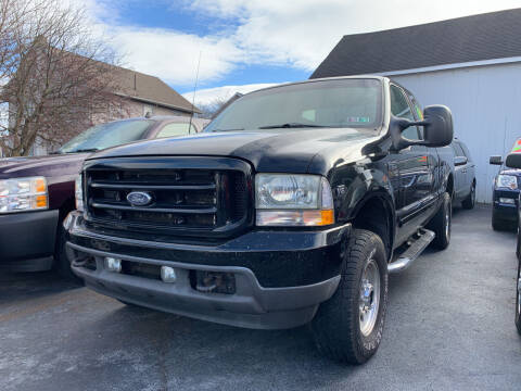 2002 Ford F-250 Super Duty for sale at Waltz Sales LLC in Gap PA