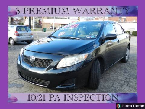 2009 Toyota Corolla for sale at 2010 Auto Sales in Glassport PA