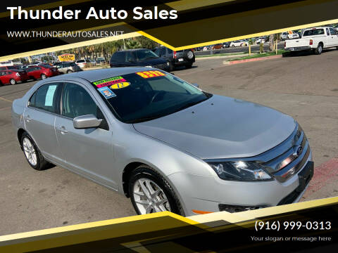 2012 Ford Fusion for sale at Thunder Auto Sales in Sacramento CA