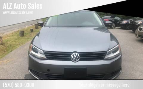 2012 Volkswagen Jetta for sale at ALZ Auto Sales in Mount Pocono PA