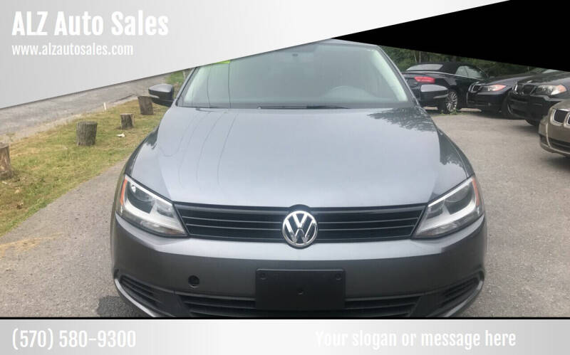 2012 Volkswagen Jetta for sale at ALZ Auto Sales in Mount Pocono PA