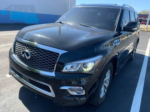 2016 Infiniti QX80 for sale at Eden Cars Inc in Hollywood FL